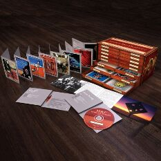 comprehensive boxed set comprising 16 cds in custom designed set of 'museum' drawers