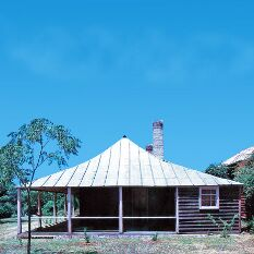 Traditional Australian roofline which flattens out and almost curves - I use this line